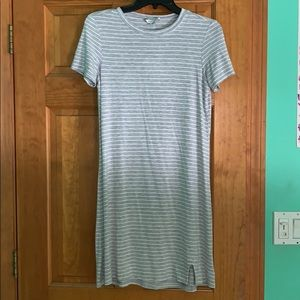 Grey American Eagle T-Shirt Dress